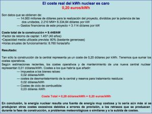 Costes Central Nuclear