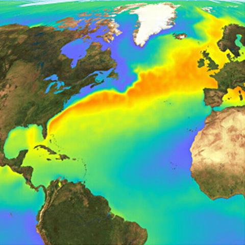 Resultado de imagen de corriente del golfo