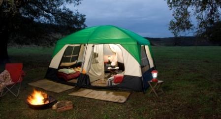 Equipos de camping para alquilar