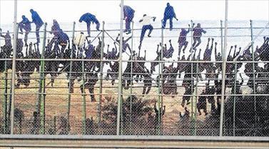 Asalto a la valla de Melilla 2014