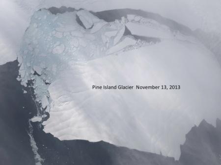 Pine Island Glacier November 2013