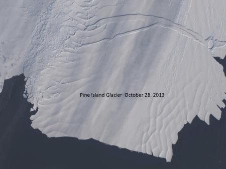 Pine Island Glacier October 2013