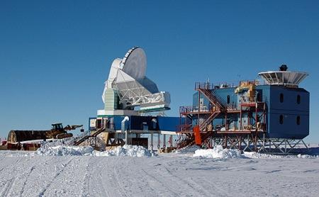 Telescopio BICEP2 en Polo Sur