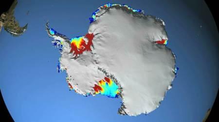 El deshielo de la Antártida se acelera 3