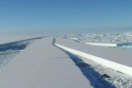 El deshielo de la Antártida se acelera 4