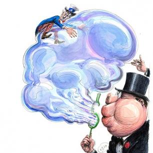 La gran burbuja financiera